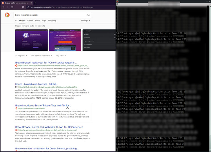 1613838296 534 Privacy Bug in Brave Browser Exposes Dark Web Browsing History of